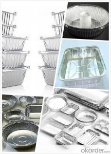 Food Container Usage Lubricated Aluminium Foil for food HHF