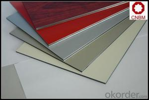 Gutter Roof Aluminium Composite Panel 1100 3003 PE PVEF Pre Painted
