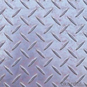 Hot Rolled Carbon Steel Checker Plate/Sheet Mild Steel Chequer Plate/Sheet