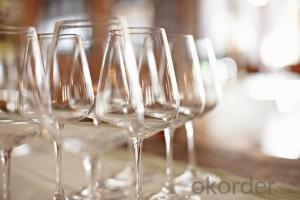 Factory price Lead-free Crystal Goblet Hot Elegant wholesale wine glasses of lead-free crystal