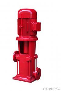 Fire Pump Red Electric High Pressure Pump
