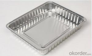 food packaging aluminium foil containers for food used for food