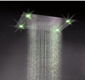 Jiangmen Self-Powered LED Luxury Shower Kit