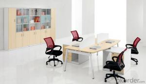 Office Work Station Table for Four Workers