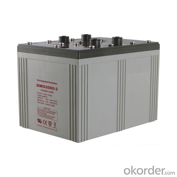 Solar Power Storage Battery 2v 600ah Long Life Lead Acid Battery