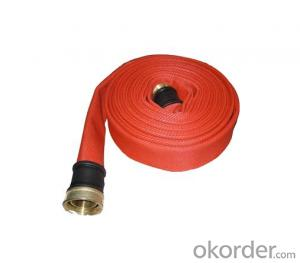 PVC lined Fire Hose different type coupling