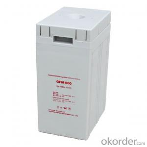 Solar Power Storage Battery 2v 150ah Long Life Lead Acid Battery