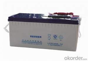 Solar Power Storage Battery 12v 200ah Long Life Lead Acid Battery