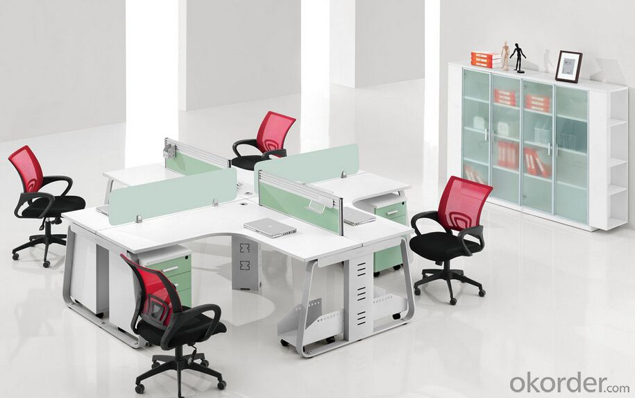 Buy Office Furniture Work Station For 4 People Price Size Weight Model Width Okorder Com