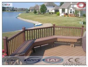 Wpc Decking Tile / Composite Decking Tile Hollow Outdoor