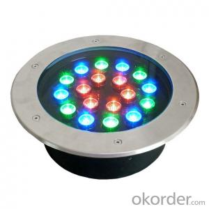 Warm White LED Underground Light