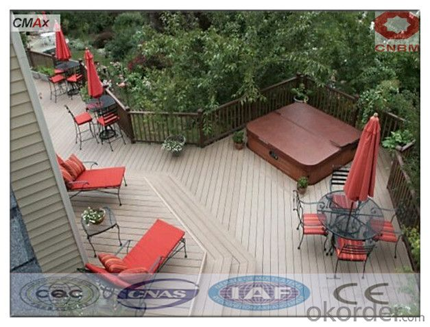 WPC Hollow Deck Tile Hot Sell Beautiful Decking For Washroom