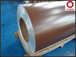 Wooden Pattern Roll Coated Aluminum Coil AA1100