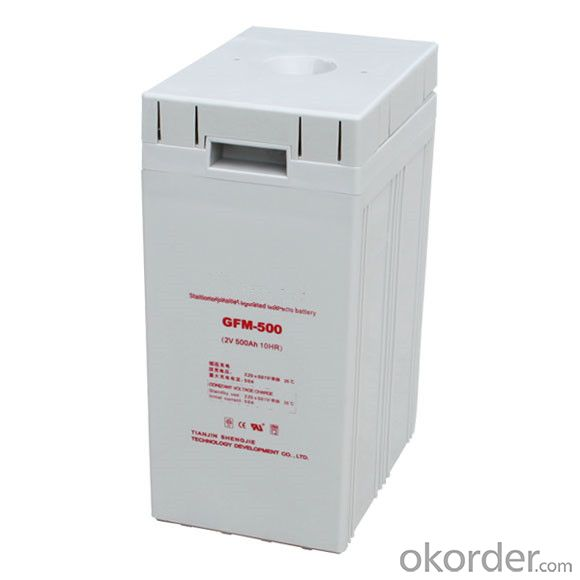 Solar Power Storage Battery 2v 1000ah Long Life Lead Acid Battery