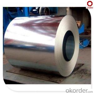 Coated steel coil with zinc hot dipped SGCC