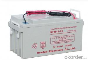 Solar Power Storage Battery 12v 65ah Long Life Lead Acid Battery