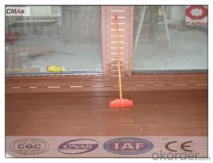 WPC Interlocking Composite Decking Tiles