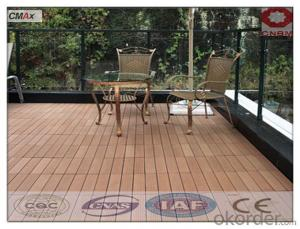 Composite Wpc Interlocking Decking Tiles Recycled Cheap Waterproof