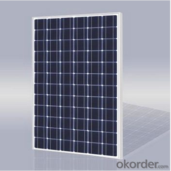 130KW CNBM Monocrystalline Silicon Panel for Home Using
