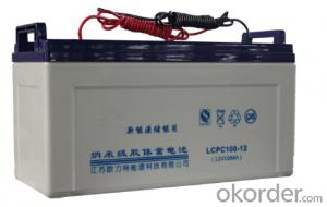 Solar Power Storage Battery 12v 80ah Long Life Lead Acid Battery
