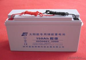 Solar Power Storage Battery 12v 120ah Long Life Lead Acid Battery