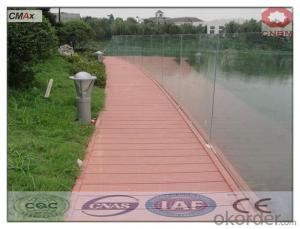 WPC Interlocking DIY Decking Tiles Hot Sell Outdoor