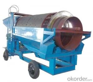 GT Series Alluvial Gold Washing Trommel Screen