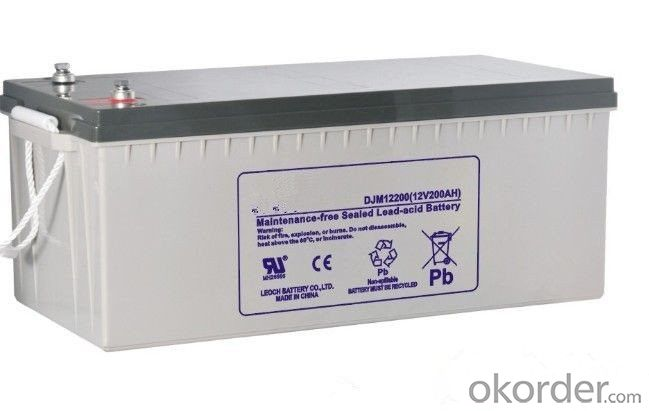 Solar Power Storage Battery 12v 100ah Long Life Lead Acid Battery