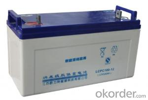 Solar Power Storage Battery 12v 90ah Long Life Lead Acid Battery