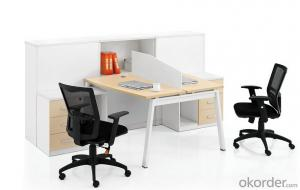 Office Work Station Desk Melamine-faced Chipboard