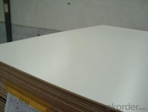Glossy Texture 5mm White Melamine Faced MDF Board