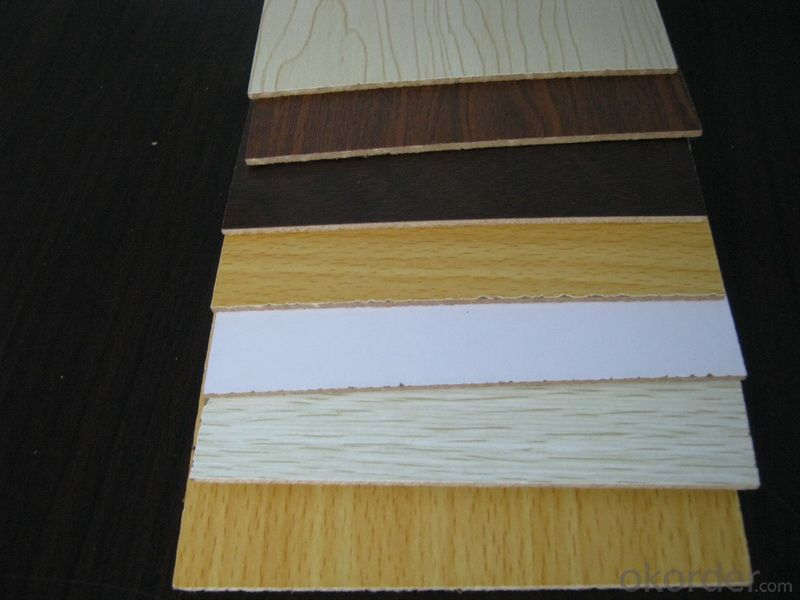 18mm Double Sides Wood Grain Melamine Faced MDF Board