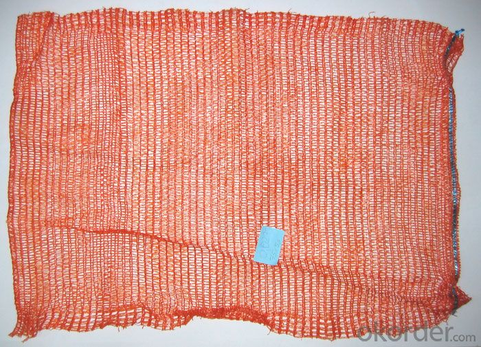 Yellow Agricultural Patato Mesh Bag 18-52g