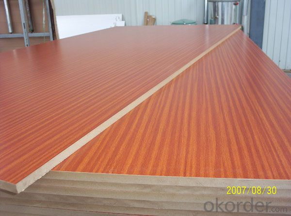 AA Grade Melamine Faced MDF for Furniture