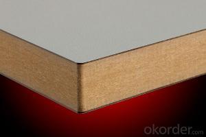 Melamine Faced Texture MDF Wood Board