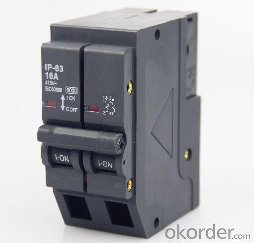 NDM1-125 Series Micro circuit breaker 63A, 80A, 100A, 125A