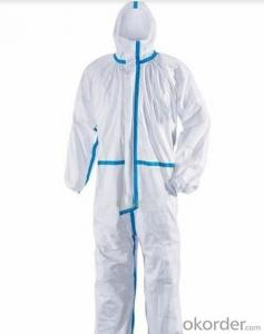 Disposable Coveralls Type 5&6 with Reflective Tape and Hood