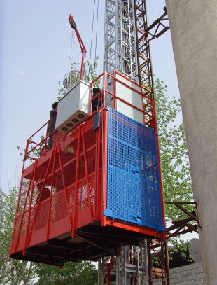 High Quality Construction hoist Building Hoist Single Cage SC160