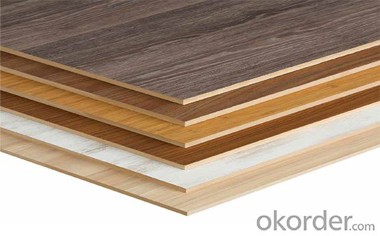 Melamine Panel/Sunbird Professional MDF Melamine Board/Melamine Faced MDF Panel
