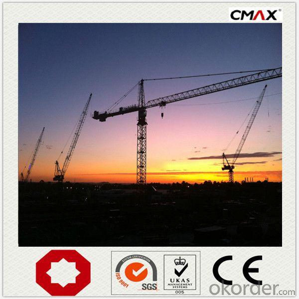 Tower Crane TC6016 QTZ100 Manufacture China