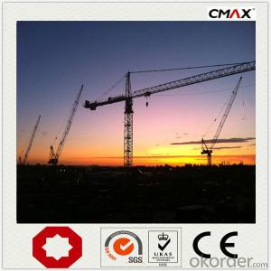 Tower Crane TC6016 QTZ100 Manufacture China