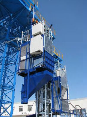 High Quality Construction hoist Building Hoist SCD200/200