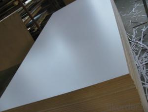 5mm Warm White Melamine Faced MDF Board