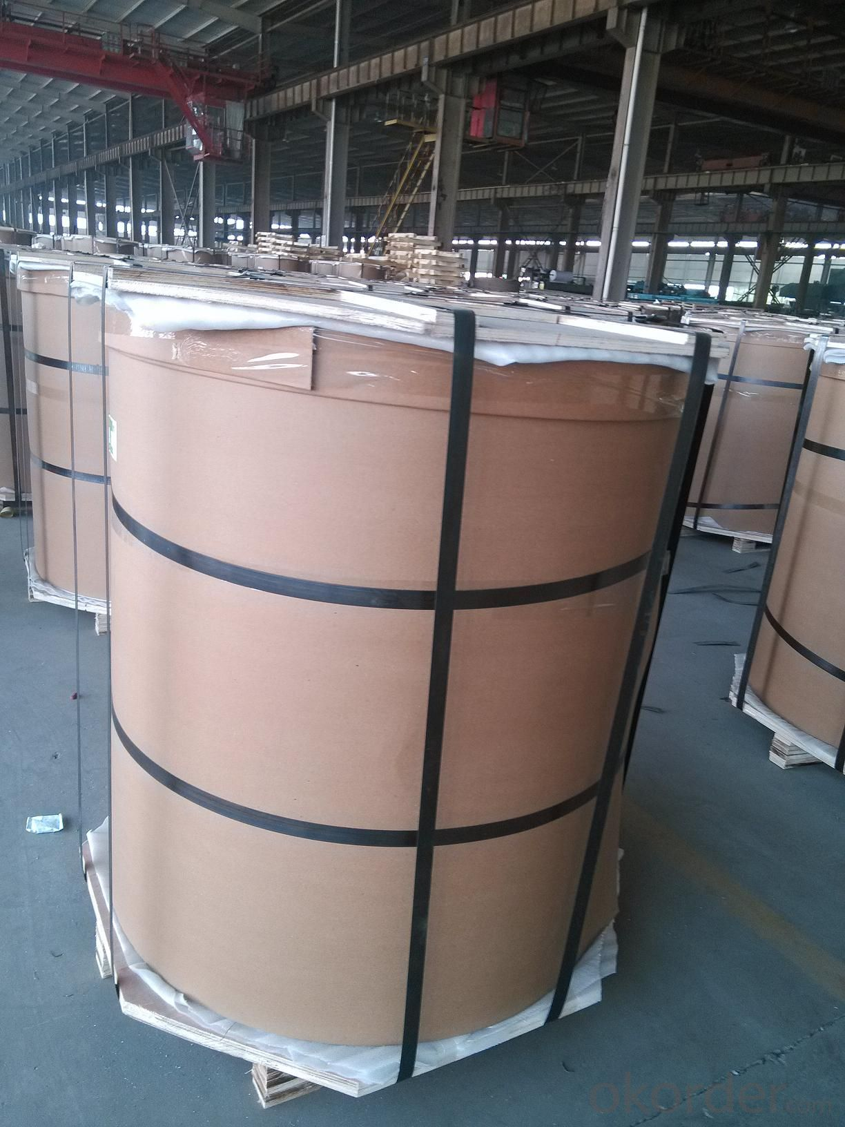 Mill Finished Aluminium Coils for Foil Casting