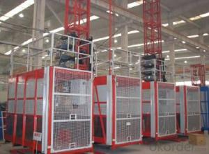 High Quality Construction hoist Building Hoist Single Cage SC100