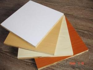 Various Colors Melamine Faced MDF Matt Surface