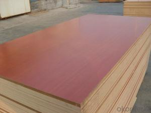 Texture Surface Melamine Faced MDF for Furniture Usage