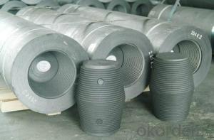 High Carbon Graphite Electrode (RP, HD, HP) -200-500m with Nipples