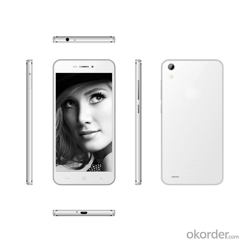 5Mtk6572 Smartphone Dual Core Dual SIM High Quality 4.5 Inch