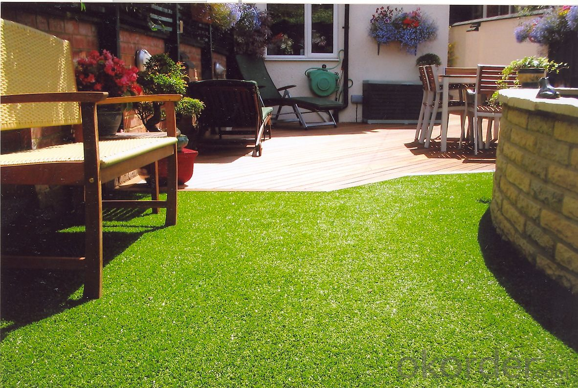 Landscaping Grass Carpet Decorative Artificial Grass for Football